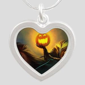 Rider With Halloween Pumpkin Head Necklaces