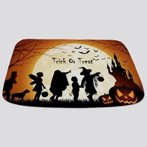 Halloween Trick Or Treat Kids Bathmat