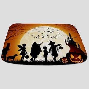 Halloween Trick Or Treat Kids Bathmat