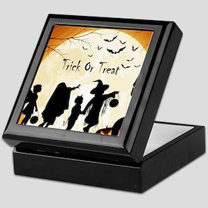 Halloween Trick Or Treat Kids Keepsake Box