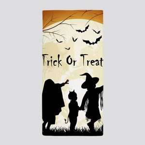 Halloween Trick Or Treat Kids Beach Towel