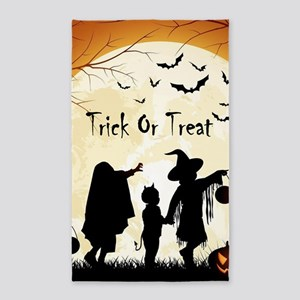 Halloween Trick Or Treat Kids Area Rug