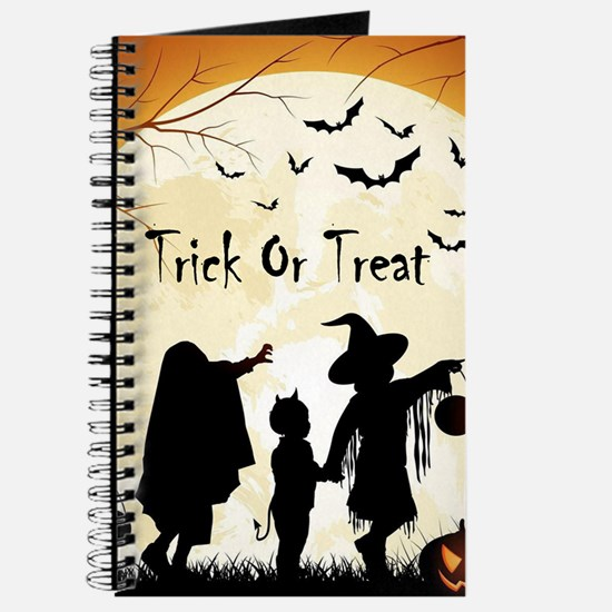 Halloween Trick Or Treat Kids Journal