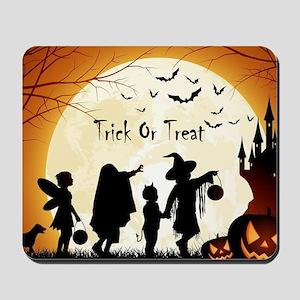 Halloween Trick Or Treat Kids Mousepad