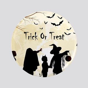 Halloween Trick Or Treat Kids Button