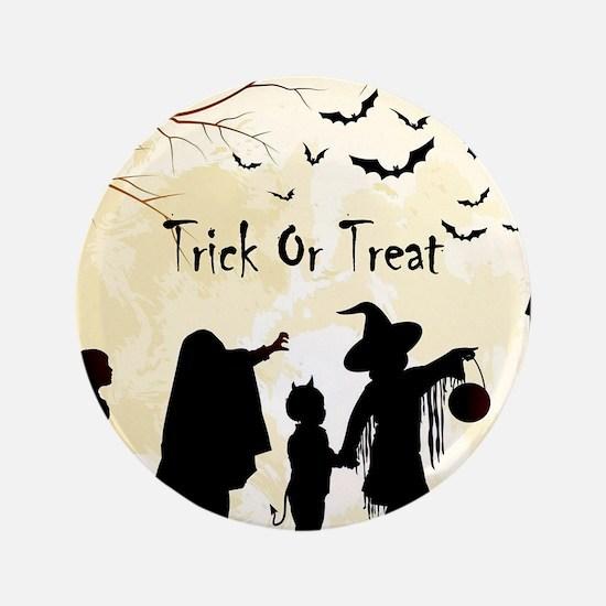 Halloween Trick Or Treat Kids Button