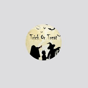 Halloween Trick Or Treat Kids Mini Button