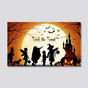 Halloween Trick Or Treat Kids Car Magnet 20 x 12