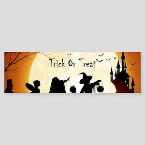 Halloween Trick Or Treat Kids Bumper Sticker