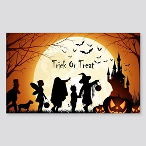 Halloween Trick Or Treat Kids Sticker