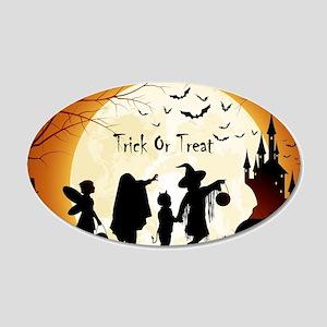 Halloween Trick Or Treat Kids Wall Sticker