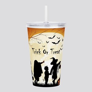 Halloween Trick Or Treat Kids Acrylic Double-wall