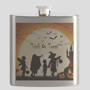 Halloween Trick Or Treat Kids Flask