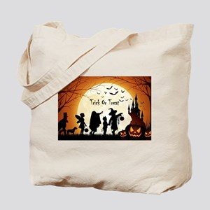 Halloween Trick Or Treat Kids Tote Bag