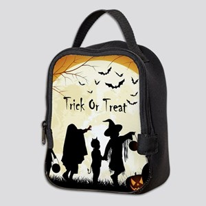 Halloween Trick Or Treat Kids Neoprene Lunch Bag