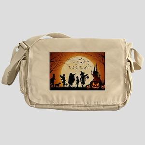Halloween Trick Or Treat Kids Messenger Bag
