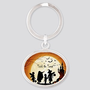 Halloween Trick Or Treat Kids Keychains