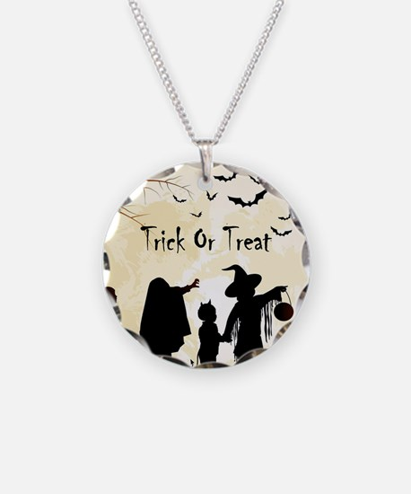 Halloween Trick Or Treat Kids Necklace