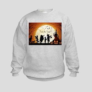 Halloween Trick Or Treat Kids Sweatshirt