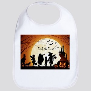 Halloween Trick Or Treat Kids Bib