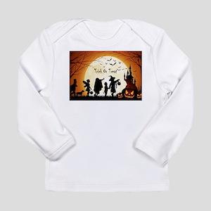 Halloween Trick Or Treat Kids Long Sleeve T-Shirt