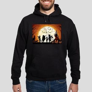 Halloween Trick Or Treat Kids Hoody