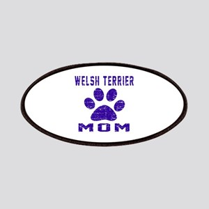 Welsh Terrier mom designs Patch