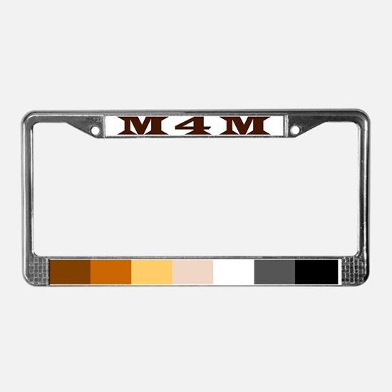 Cute Huskies License Plate Frame