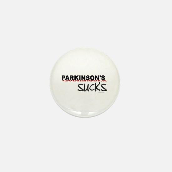 Parkinson's Sucks 1.3 Mini Button
