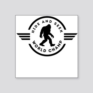 Hide And Seek Champ Bigfoot Sticker