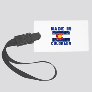 Made In Colorado Large Luggage Tag