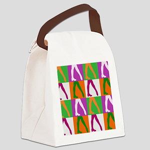 Irish Dancers Canvas Lunch Bag