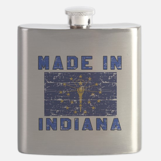 Made In Indiana Flask