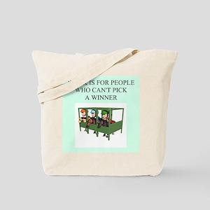 horse racing gifts t-shirts Tote Bag