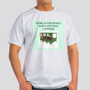 horse racing gifts t-shirts Light T-Shirt