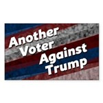 Another Voter Against Donald Trump Sticker