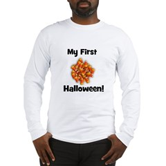 My First Halloween! (candy co Long Sleeve T-Shirt