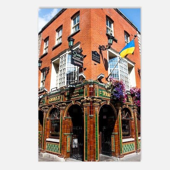 The Quays Bar - Dublin Ir Postcards (Package of 8)