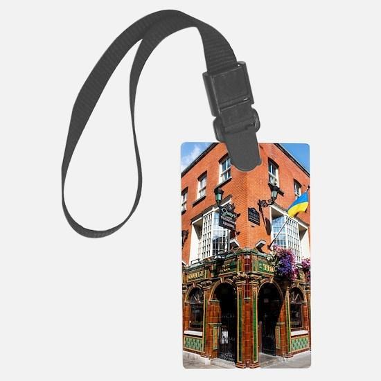 The Quays Bar - Dublin Ireland Luggage Tag