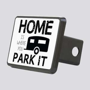 Home is Where You Park It Hitch Cover