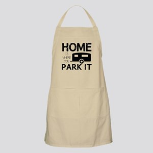 Home is Where You Park It Apron