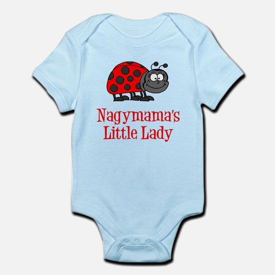 Nagymama's Little Lady Body Suit
