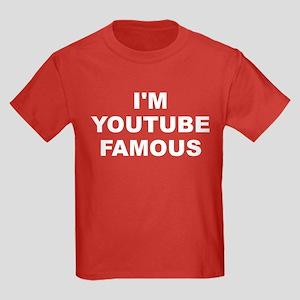 I'm Youtube Famous Kids Dark T-Shirt
