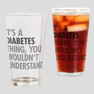 Diabetes Thing Drinking Glass