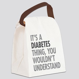 Diabetes Thing Canvas Lunch Bag