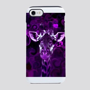 Closeup Purple iPhone 8/7 Tough Case