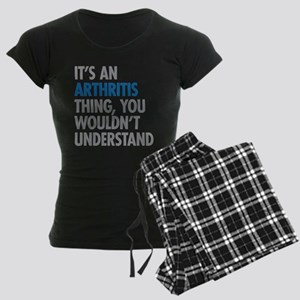 Arthritis Thing Women's Dark Pajamas