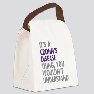 Crohns Disease Thing Canvas Lunch Bag