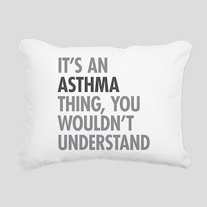 Asthma Thing Rectangular Canvas Pillow