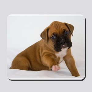 Fawn Boxer Puppy Mousepad